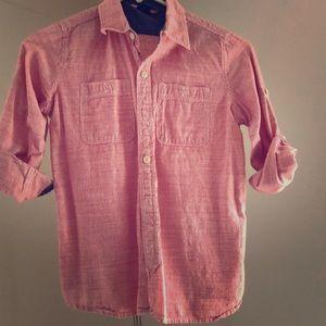 Gap Red Gingham shirt